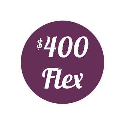 Plan I - $400 Flex Plan