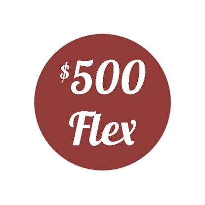 Plan J - $500 Flex Plan