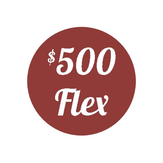 Picture of Plan J - $500 Flex Plan