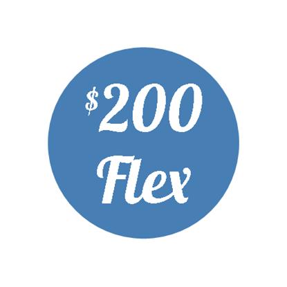 Plan G - $200 Flex Plan