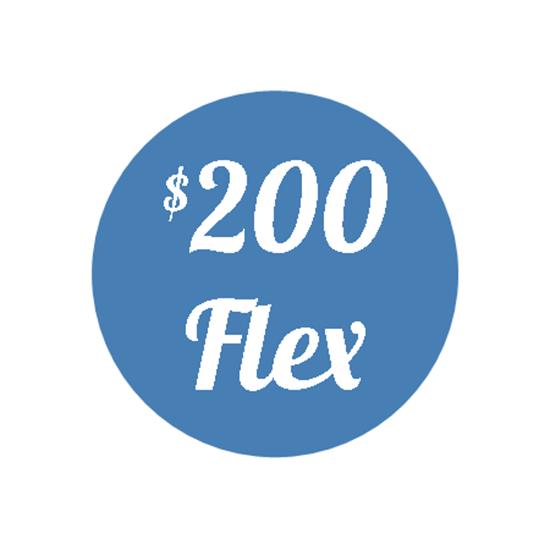 Picture of Plan G - $200 Flex Plan
